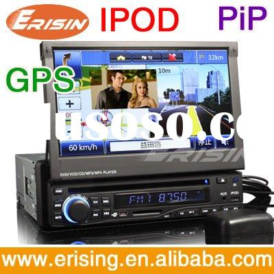 Erisin HD 7 Inch 1 Din Car DVD Navigation BT TV Radio USB MP3
