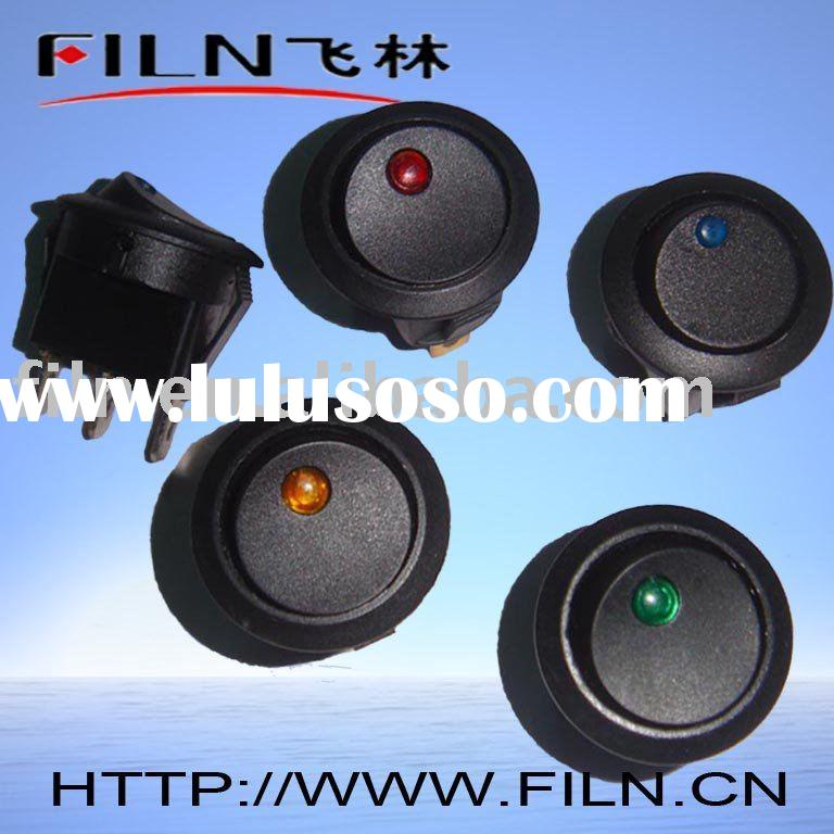 FL3-18 lighted round rocker switch