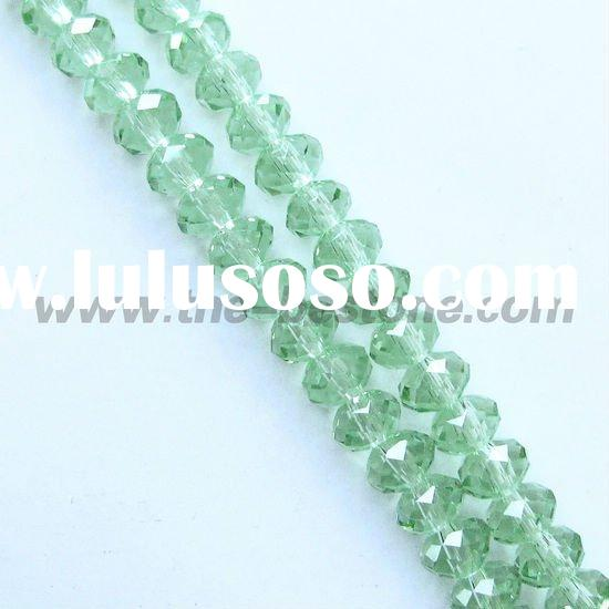 Faceted Glass Beads for Jewelry Making