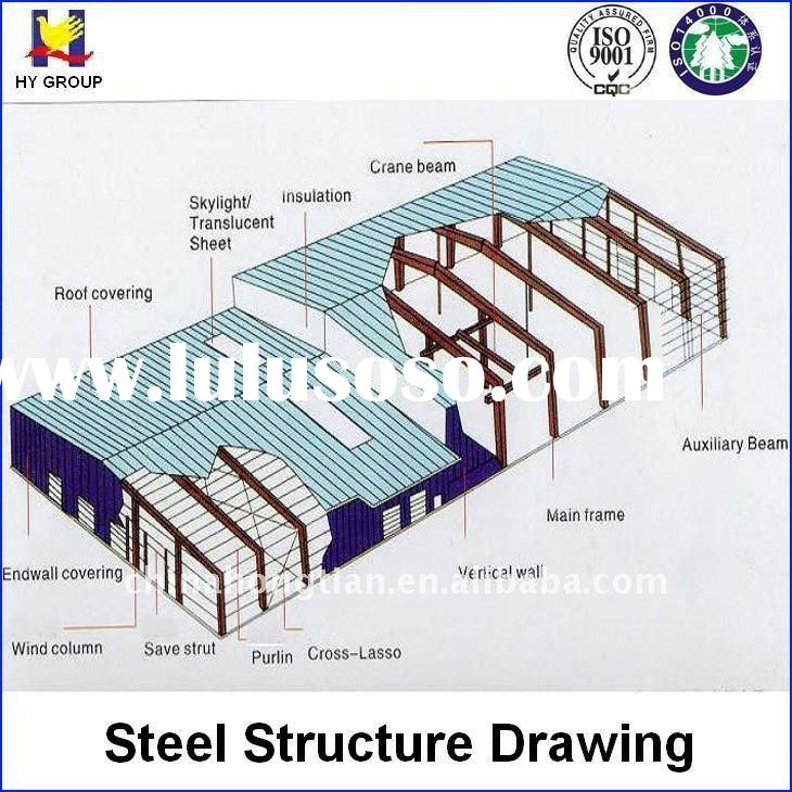 Steel Structure Drawing Steel Structure Drawing