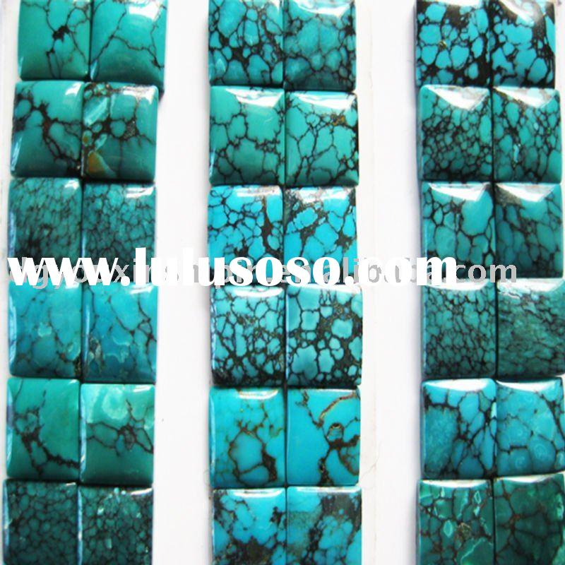 Fashion natural newest gemstone loose beads Semi-precious Turquoise stone jewelry