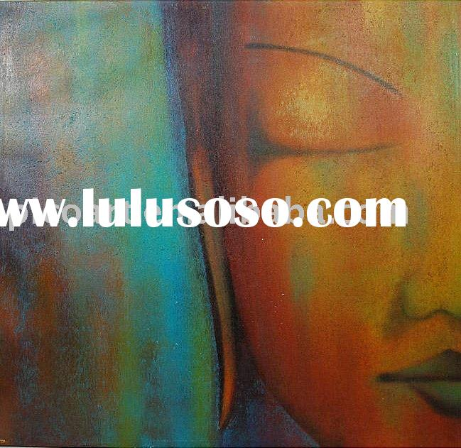 Figure Buddha Painting Technique,canvas painting