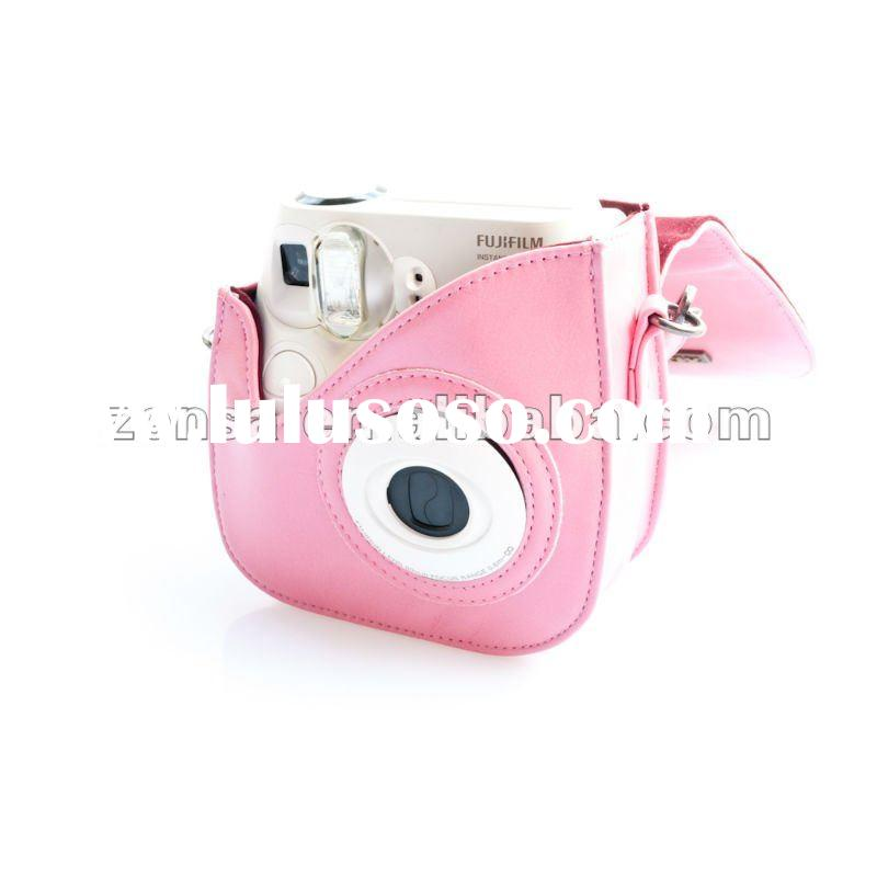 Fujifilm Instant Polaroid Mini7s Film Camera Special Pink Camera Case Bag Fuji Instax