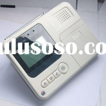 GSM/PSTN Auto-Dial Alarm System of Large LCD screen with menu navigation function