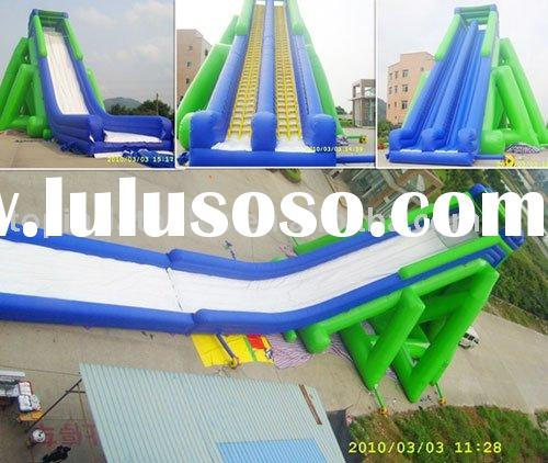 Giant inflatable slide/2011 A1 HOT SALES inflatable slide/inflatable water slide/inflatable toy