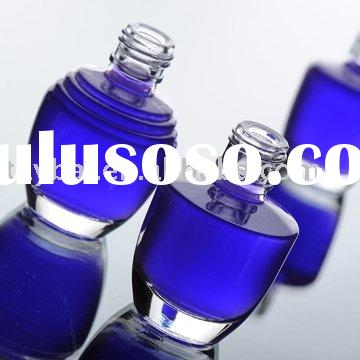 Glass Cosmetic Bottle and jars with cap
