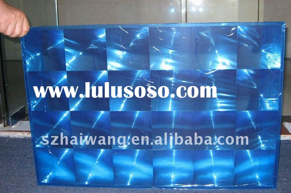 Glass-silicon Solar Fresnel Lens ,6*4 array lens