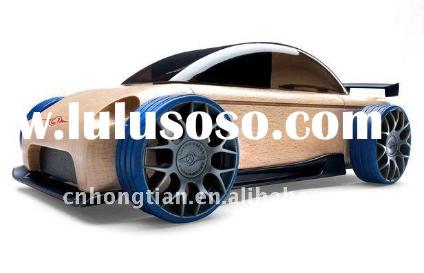 Good quality and best price automoblox wooden toy car