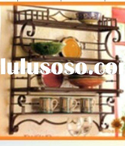 decorative metal wall shelf shelves 2