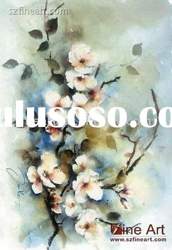 High quality handmade Impressionist Flower Oil Painting with nice color(New and Hot)