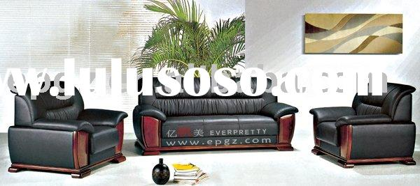 High quality leather sofa,office furniture, lobby chair