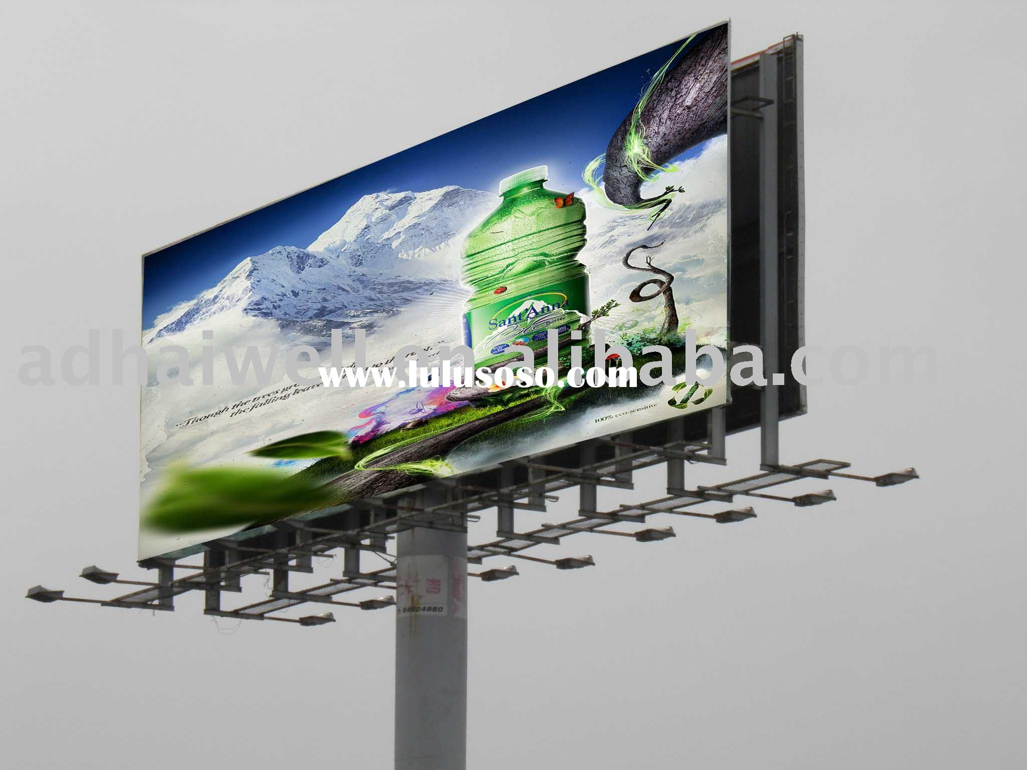 Highway Billboard Advertising Display