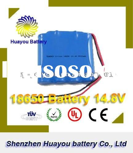 HuaYou 2011 News Li-ion 18650 14.8V used car batteries for sale