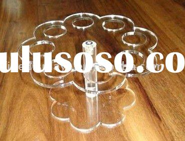 ICE CREAM CONE ACRYLIC HOLDER CAKE STAND FOR 8 CONE(FD-FD-236)