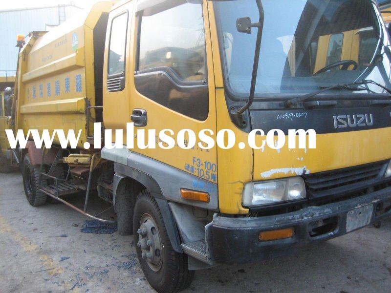 ISUZU GARBAGE USED TRUCK FOR SALE ( 8226 CC , 1998 )