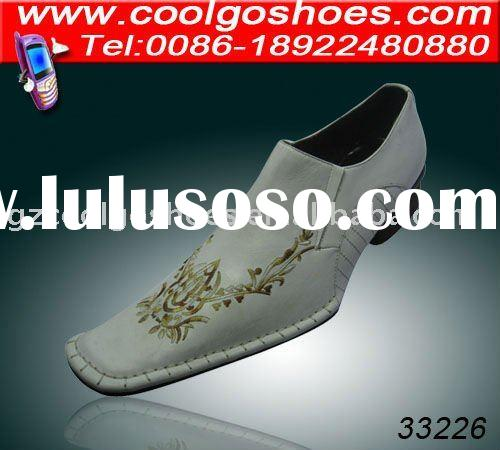 Italy design Newest professional Leather dress men's shoes made in Guangzhou