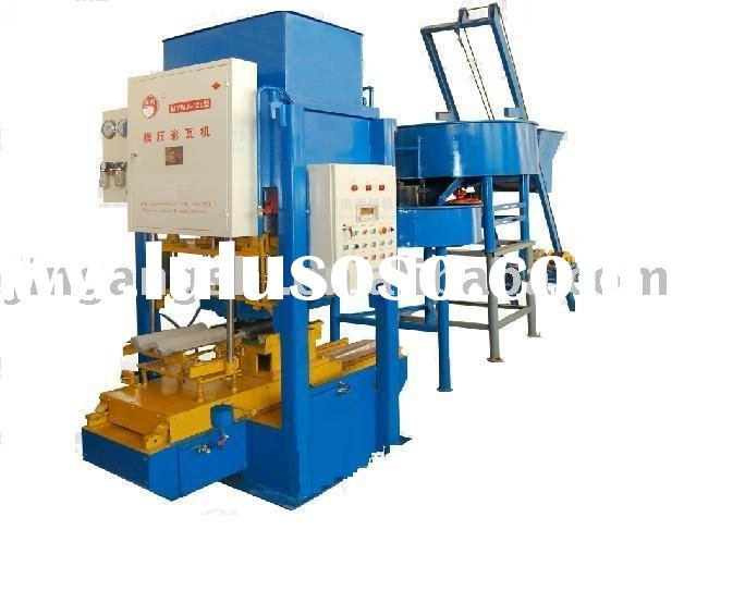 JXCW-128 concrete roof tile making machine 0086-15238020689