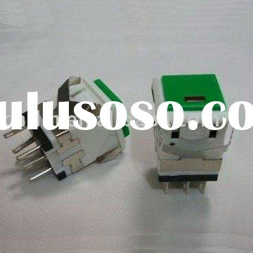 KD2-21 DPDT ON/OFF Latching illuminated push button switch