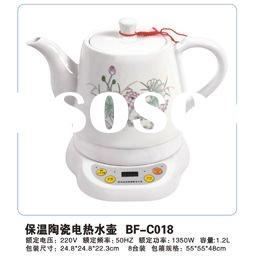 Keep-warm ceramic electric kettle