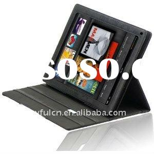Kindle Fire genuine leather case