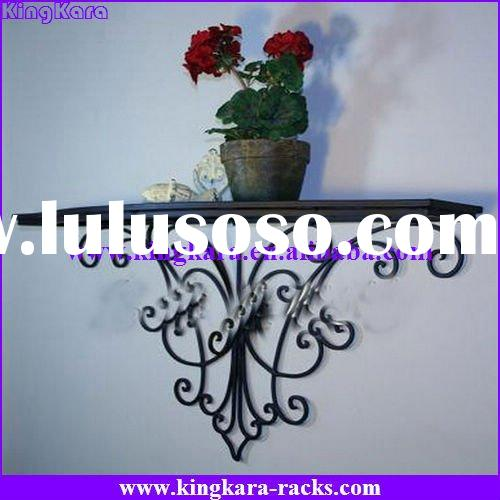 KingKara Wrought Iron Wire Bathroom Shelves
