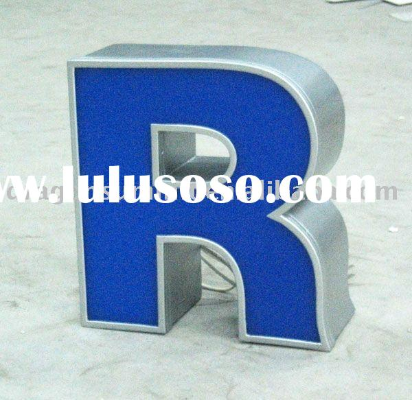 LED Channel letter sign