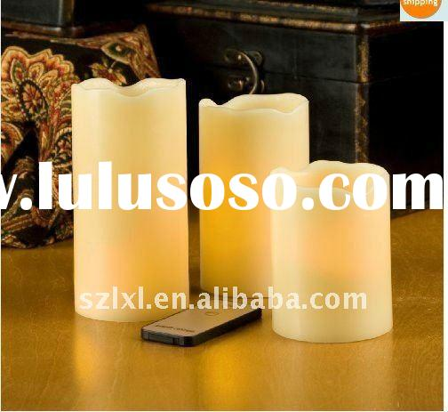 LED flameless remote candle light