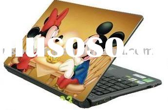 Laptop skin sticker cover with Mickey Mouse design
