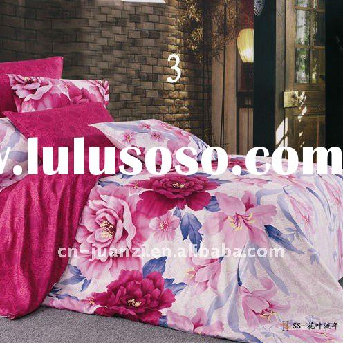Latest design 100% cotton comforter set in November
