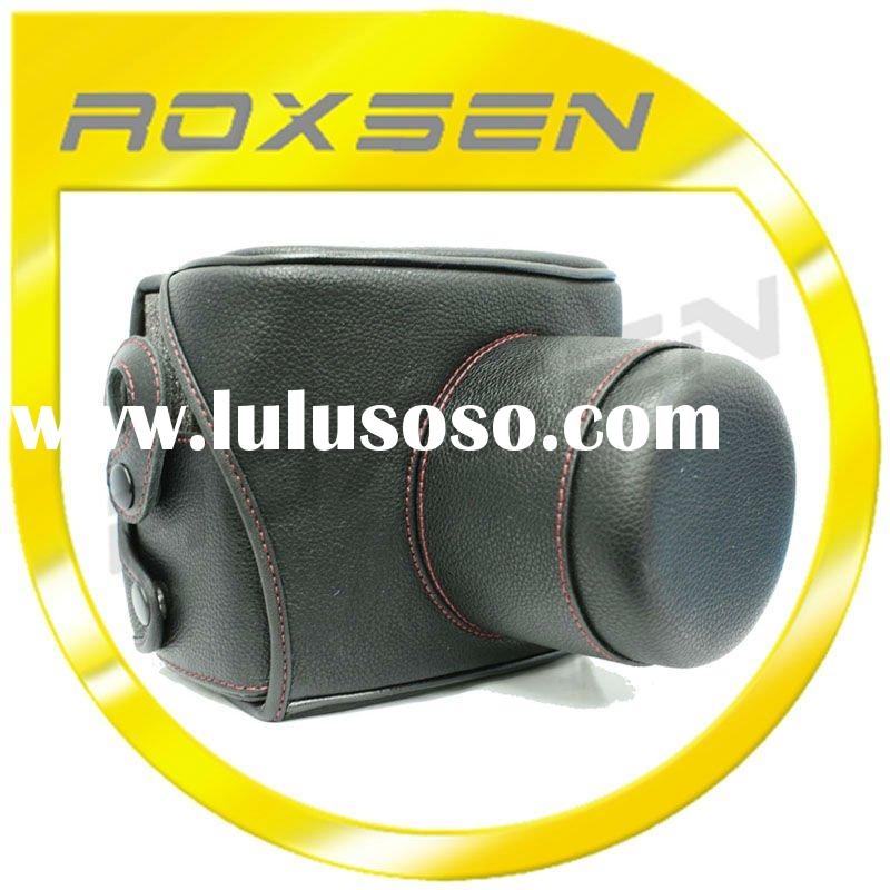 Leather Camera Case Bag for Canon 550D 500D 450D