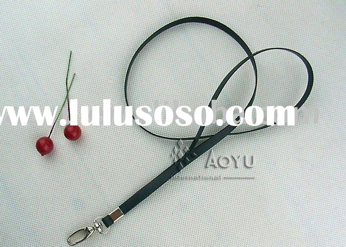 Leather badge holder Lanyard with best price