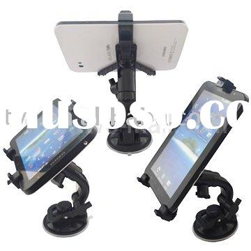 Magic Retractable Multi-Direction Car Mount Holder for Apple iPad Stand w/ New Vacuum Suction Cupule