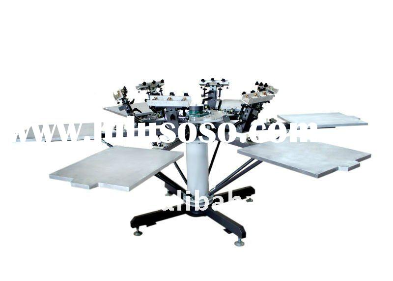 Manual screen printing machine textile(6 color )