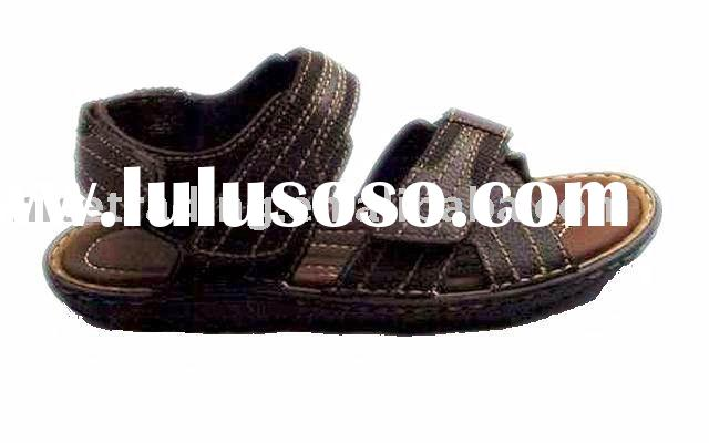 Men's conform casual sandal shoe, leather men's sandal shoe ,men's leather c