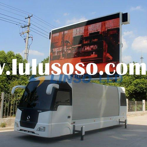 Mobile LED display, Mobile led trailer, Mobile advertising vehicles