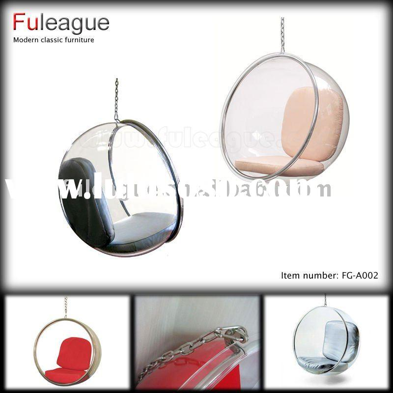 Modern Bubble Acrylic Hanging Ball Chair FG-A002