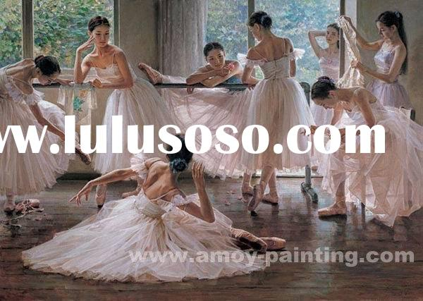 Modern Dance Oil Painting