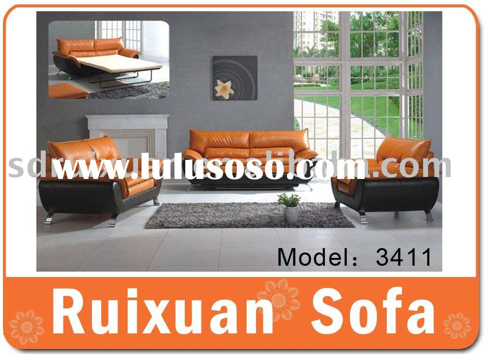 Modern Leather Sofa bed 3411 (Folding sofa bed)