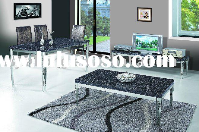Modern marble coffee table for home or hotel