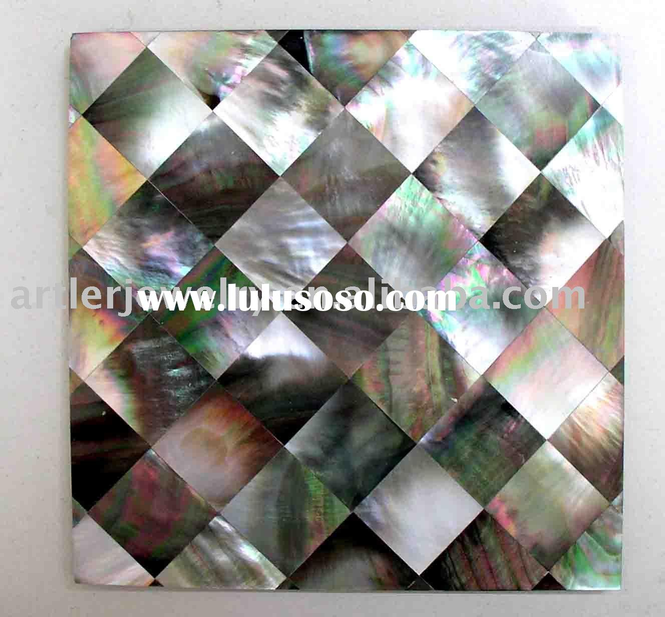 Mother of pearl tile, mop tile, mop mosaic