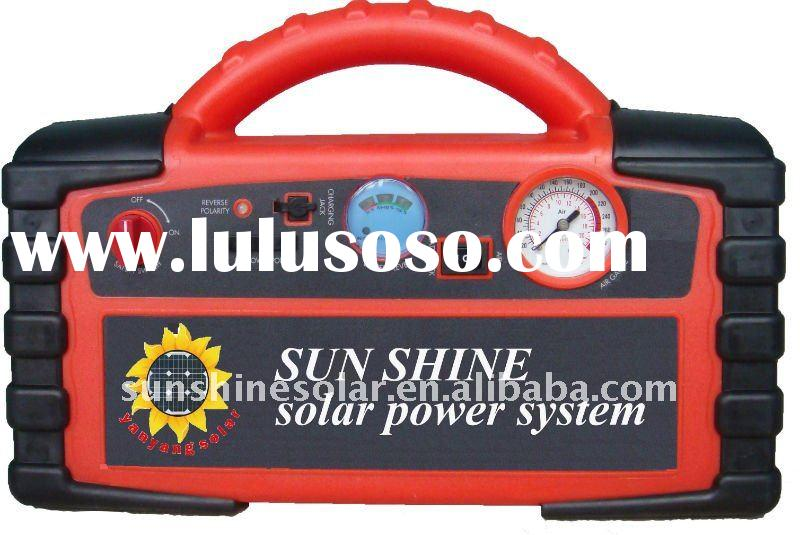 Multi-function portable solar power system