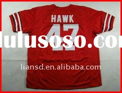 NCAA Jersey Ohio State Buckeyes A J Hawk #47 Football jersey 100% sewn on original jersey accept pay