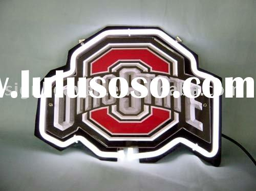 NCAA OHIO STATE UNIVERSITY BUCKEYES 3D NEON
