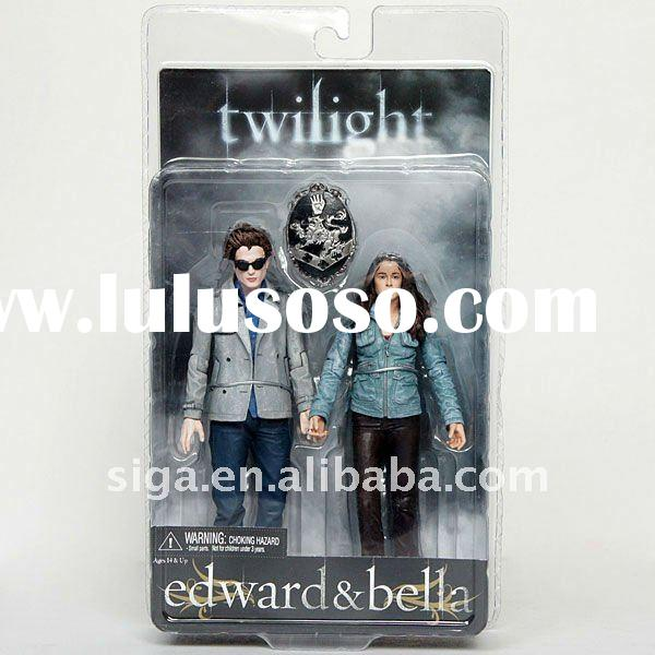 NECA Twilight New Moon Movie Series 1 2-pack Action Figure Edward & Bella 7""