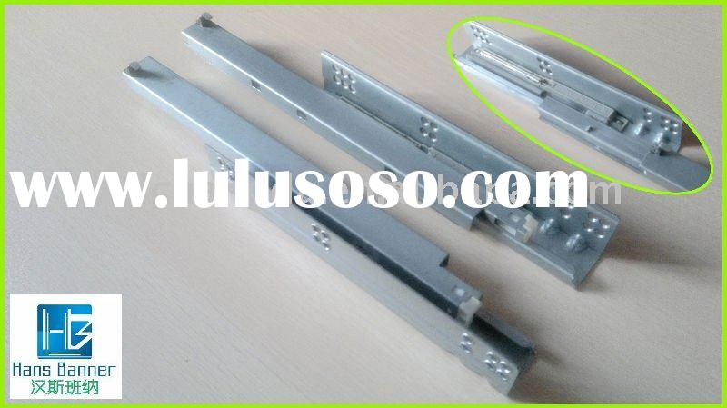 NEW MODEL HIGH QUALITY FULL EXTENSION SOFT CLOSE UNDERMOUNTED CONCEALED DRAWER SLIDE FOR FURNITURE H