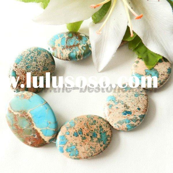 Natural Gemstone Beads Imperial Jasper For Jewelry