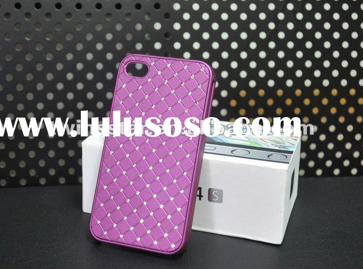 New Arrival~Allover Diamond hard case for iphone 4/4s