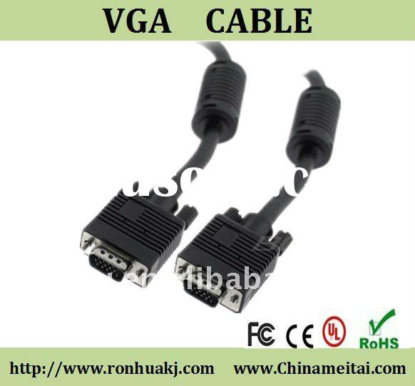 New offer. Promotation 15 pin male to male vga cable for Computer/Laptop/pc