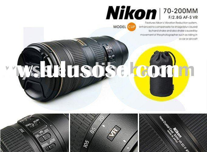 Nikon 24-70mm f/4L IS Thermos Travel Coffee Mug /Cup Promotional Gfit