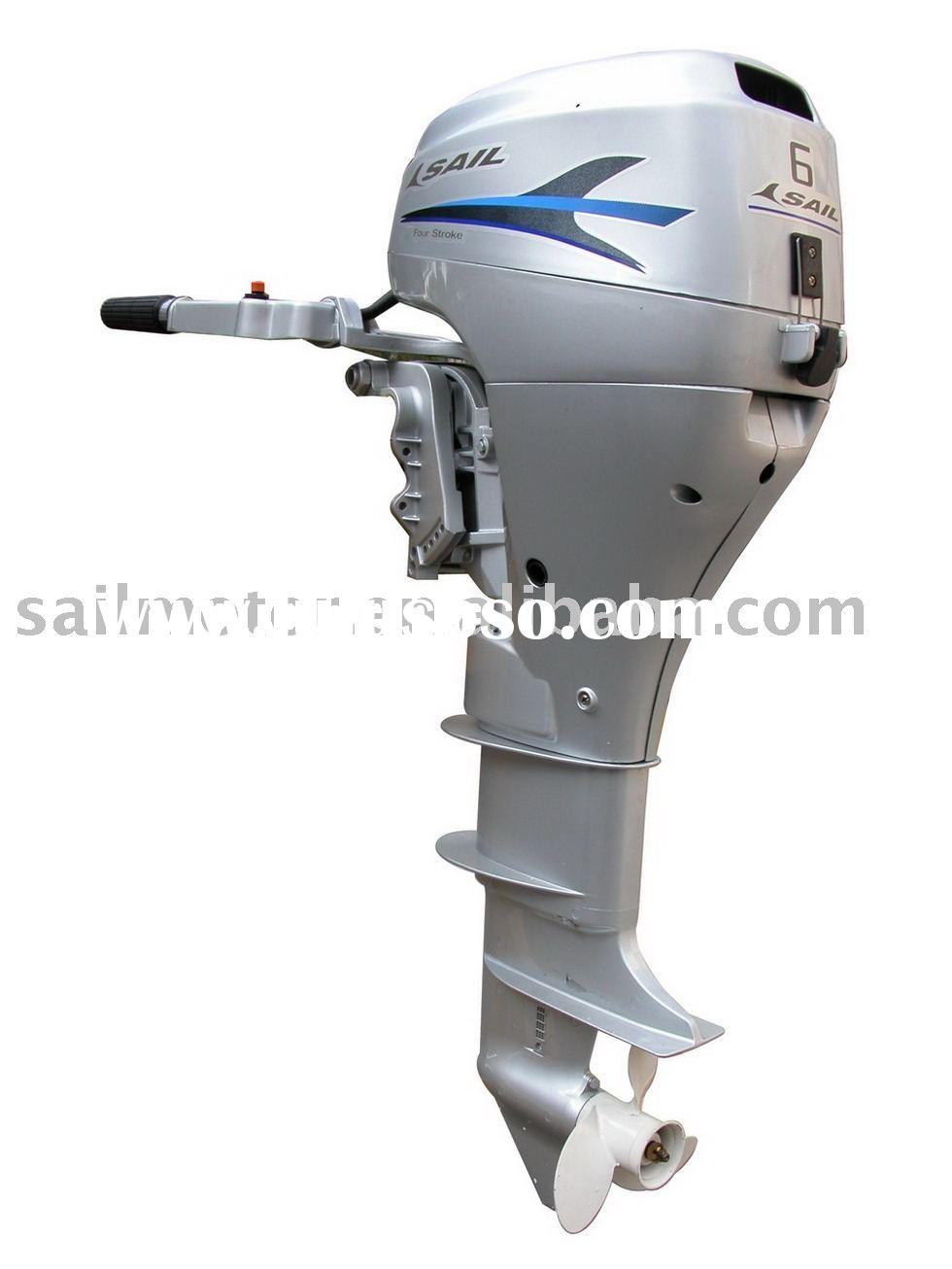 Outboard engine / outboard motor 4-Stroke 6HP / 8HP (Short /Long Shaft)- SAIL manufacturer